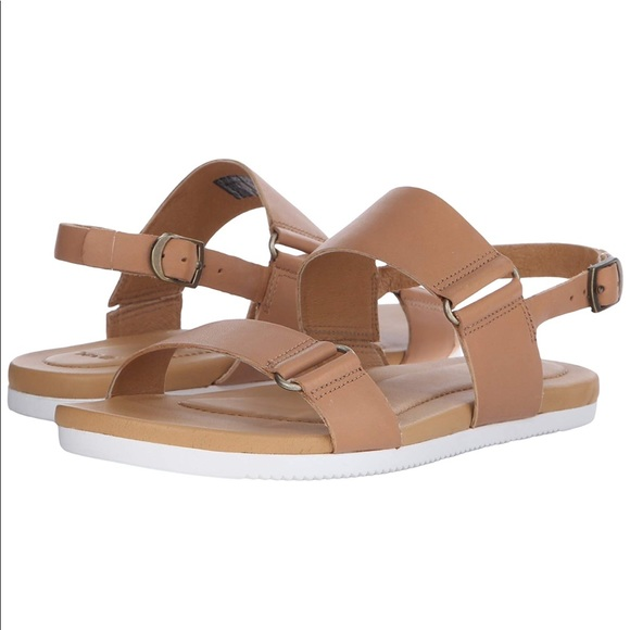 9dd38c898569 Teva Avalina Leather Tan Brown Sandal Strappy. M 5b95a42f03087cf414ab723b